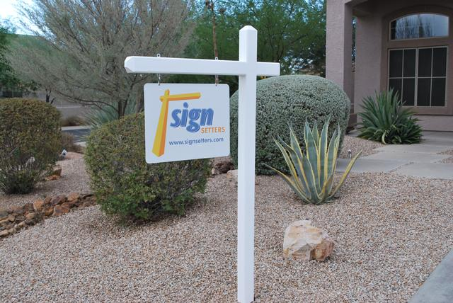 Sign Setters Company Signpost Installation Phoenix Franchise